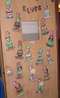 Funny Christmas Door Elves 66 Ideas For 2019 Christmas Classroom Door, Christmas Door Decorations, Office Christmas, Preschool Christmas, Classroom Fun, Noel Christmas, Christmas Activities, Christmas Humor, Christmas Themes