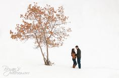 Snow engagement photos!