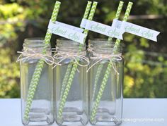 Lemonade Stand Party Printables #party