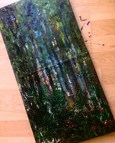 Reality #art #tree #trees #forrest #reality #day #paint #painting