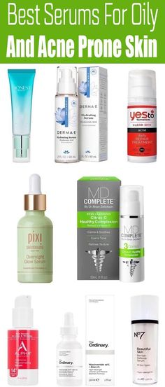 Best Serum For Oily Pimple Skin Must Try - Whilst a anti aging routine is not for all, there is one particular phase that we all are best getting on board along with: serum. Arkansas, Best Skincare Products, Best Face Products, Skin Products, Acne Skin, Acne Prone Skin, Acne Scars, Best Night Serum, Anti Aging