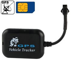 [$13.69] Mini Vehicle Motorcycle Bike LBS / SMS / GSM / GPRS Real Time Tracker Monitor Tracking(Black)
