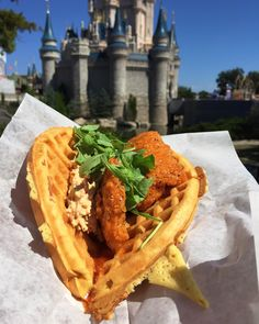 Sweet and Spicy Chicken and Waffle Sandwich Sleepy Hollow