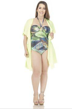 Lehona - Moda Praia Plus Size / Produtos / Saídas de Banho