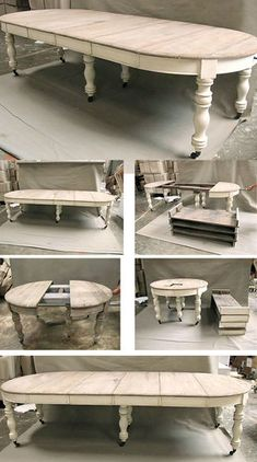 Eminent represented shabby chic dining room farmhouse style check that Shabby Chic Oval Dining Table, Round Dining Table, French Dining Tables, French Table, Shabby Chic Bedrooms, Shabby Chic Furniture, Shabby Chic Decor, French Furniture, Furniture Logo