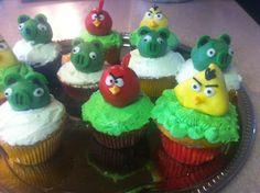 Cutest Angry Bird Cupcakes!!