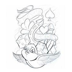 Bird Symbol | Gallery Symbols Lucky Bird2 Tattoo Free Download Prince Design 500x500 ...