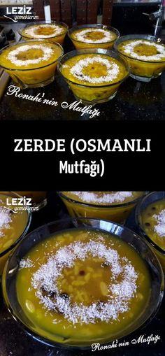 Zerde (Ottoman Cuisine) - My Delicious Food Zerde (Ottoman Cuisine) - My Delicious Food,You can find Cuisine and more on our website.Zerde (Ottoman Cuisine) - My Delicious Food Zer. Köstliche Desserts, Delicious Desserts, Healthy Desserts, Dessert Recipes, Yummy Food, Fun Easy Recipes, Sweet Recipes, Baked Breakfast Recipes, Eat Breakfast