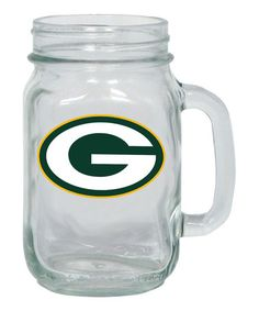 Another great find on #zulily! Green Bay Packers Mason Jar Jug #zulilyfinds