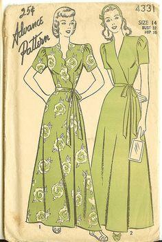 Robe Pattern by peagreengirl, via Flickr