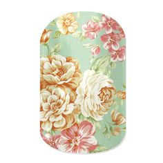 Vintage Chic nail wraps by Jamberry Nails