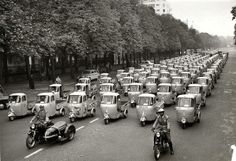 INVASION OF THE ITALIAN BEES! APE Piaggio (ITA, 1948-Present)