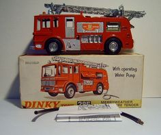 Dinky Toys Merryweather fire engine No.285 Merryweather Fire Engine Model Made Completely From Recycled Materials - 5 Of 5