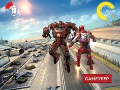 لعبة Iron Man    كما عودناكم كل يوم لعبة ببطل جديد و اليوم احببنا ان نقدم لكم بطل من افضل الشخصيات التي نعشقها و لها...