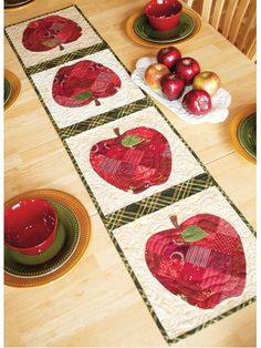 Patchwork Apple pattern | Shabby Fabrics