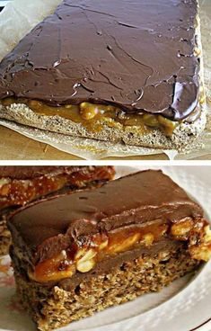 Baking Recipes, Cookie Recipes, Dessert Recipes, Sweet Desserts, Sweet Recipes, Peanut Cake, Torta Recipe, Cake Roll Recipes, Kolaci I Torte