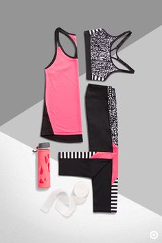 Play the part no matter if you're off to yoga, pilates, barre or a run with the C9 Champion collection. The Train Tank, Power Core Compression Bra and Performance Leggings are the ultimate must-haves to make any workout effortless. Add a water bottle and stretching strap to end your workout with the perfect cool down.