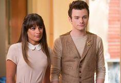 Glee 5x03 - Rachel & Kurt - when Rachel finally, suddenly appeared in this episode, when I heard her voice, I lost it.