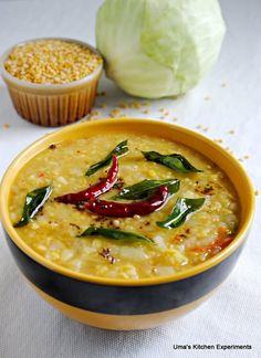 Cabbage Moong Dal ~ My Kitchen Experiments via Sandra Angelozzi Lentil Recipes, Chutney Recipes, Veg Recipes, Curry Recipes, Indian Food Recipes, Asian Recipes, Vegetarian Recipes, Cooking Recipes, Healthy Recipes