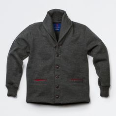 A @Dehen 1920/@Best Made Co collaboration — Shawl Neck Sweater Coat