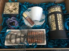 Stylish coffee gift box to love