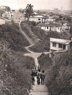 Rua Loefgreen (Vila Mariana) - Antiga travessia - Hoje ligada pelo Viaduto Miguel Colello - anos 60