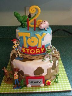 Toy Story Cake w/Toys
