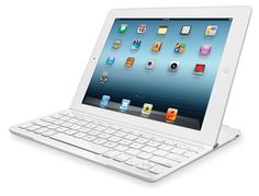 Amazon.com: Logitech Ultrathin Keyboard Cover White for iPad 2 and iPad (3rd/4th generation) (920-004722)