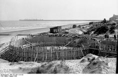 Construction on the Atlantic Wall