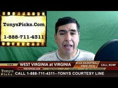 West Virginia Mountaineers vs. Virginia Cavaliers Pick Prediction Colleg...