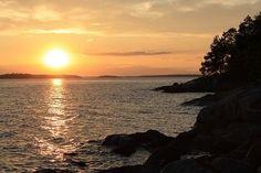 Sunset, Lynx Skerry, Stockholm. #PinStockholm    http://pics.lockerz.com/s/249988326#
