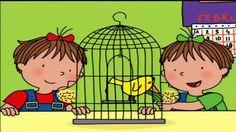üçüzler ~ Sınıfta Küçük Bir Kuş - Çizgi Film Türkçe