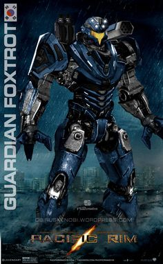 Created/Kitbashed my newest custom Jaeger for my Shatterdome: Introducing Guardian Foxtrot Custom Jaeger Guardian Foxtrot South Korea King Kong, Godzilla, Pacific Rim Movie, Pacific Rim Jaeger, Arte Robot, Cool Robots, Spaceship Art, Robot Concept Art, Geek Art