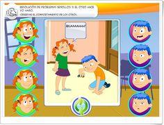"""""""Observar el comportamiento de los otros"""" (Resolución de conflictos en Educación Infantil y Primaria) Online Gratis, Family Guy, Fictional Characters, Google, Gift, Conflict Resolution, Behavior Modification, Interactive Activities, Behavior"""