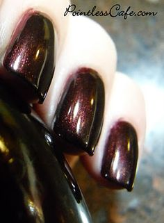 Day Six of Sinful Colors Swatch Fest - Mercury Rising and Rich in Heart