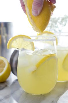 This Tequila Pineapple Punch is made with tequila, coconut rum, pineapple juice a splash of lemon juice and a little seltzer to top it off. It's the perfect balance of sweet verse tart. Fun Cocktails, Party Drinks, Summer Drinks, Cocktail Drinks, Fun Drinks, Cocktail Recipes, Drink Recipes, Alcohol Recipes, Beverages