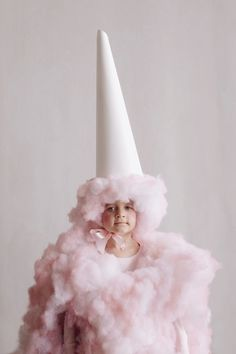 Cotton Candy Costume Idea | The cutest candy costume that you have to try this year for the kids on Halloween!