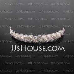 Stilvoll Legierung/Nachahmungen von Perlen Tiaras (042017916)