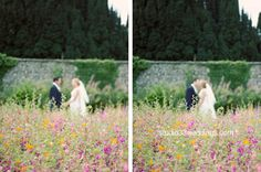 Romantic Flowers, Railroad Tracks, Wedding Photos, Castle, Marriage Pictures, Castles, Wedding Photography, Wedding Pictures, Train Tracks