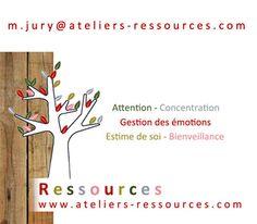 Maryline Jury anime à Lyon des ateliers de pleine conscience pour enfants et adolescents, dans le cadre de sa structure Ateliers Ressources.