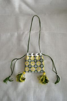 Across the Ages - Discovering Medieval Life: Embroidered Purse