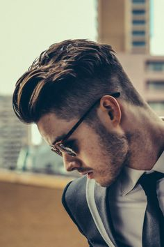 Men's wear / mode homme / hair