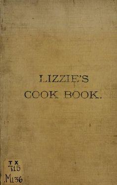 Lizzie's cook book