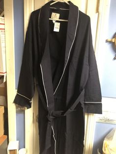 440a7da6dd J CREW MENS FLANNEL ROBE SLEEP LARGE NEW TAGS L-XL NWT PART OF SET  fashion   clothing  shoes  accessories  mensclothing  sleepwearrobes (ebay link)