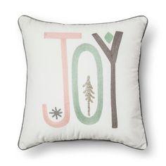 Sour Cream Joy Pastel Throw Pillow - Threshold™ : Target. Reg $25, wait till it goes on sale