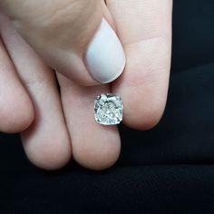 2.66 Carat G VS1 Cushion Cut Natural Real Diamond Enhanced For Solitaire Ring #MyDiamonds