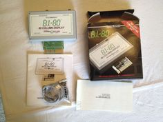 80 Column Display cartridge and box for Commodore 64 by Batteries Included