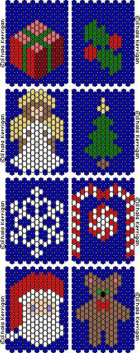 Pintgrams - Just another WordPress site Peyote Stitch Patterns, Beading Patterns Free, Seed Bead Patterns, Christmas Perler Beads, Beaded Christmas Ornaments, Pony Bead Crafts, Beaded Crafts, Snowflake Pattern, Beaded Snowflake