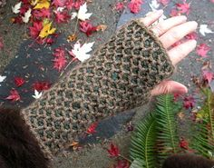Ravelry: GreenWoman's November Mitts Interweave Crochet, Accessories 2011 Interweave Online Store