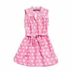 Morgan & Milo Faye Butterfly Shirt Dress   Save 20% only at giggle, with code SPRINGSTYLE by 4/7!